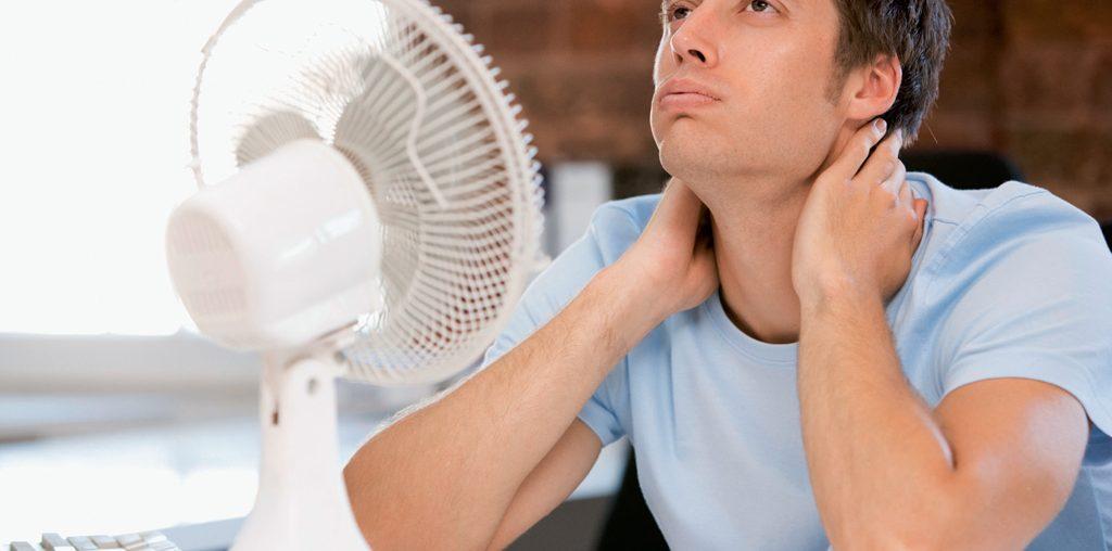 Wysoka temperatura w pracy